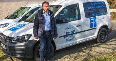"""Bernd Herweg vom Projekt """"Wohl zu Hause""""."""