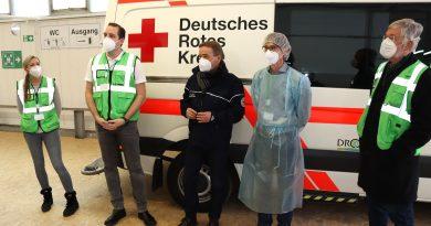 Impfzentrum in Attendorn an Start gegangen