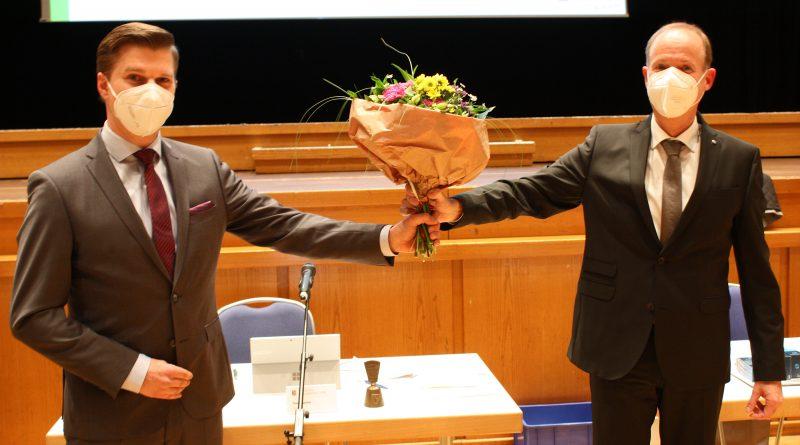 Philipp Scharfenbaum wird neuer Kreisdirektor