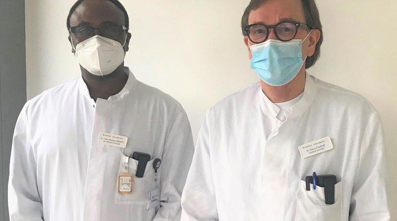 Dr. Mathias Bebobru und Dr. Klaus Friedhoff