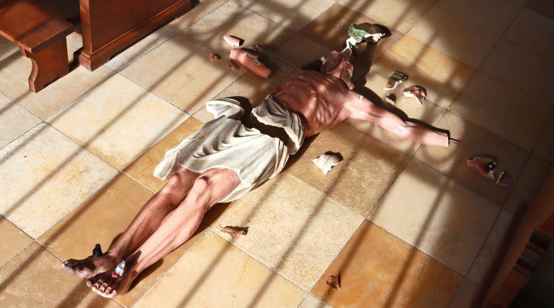 Der zerstörte Christus-Korpus