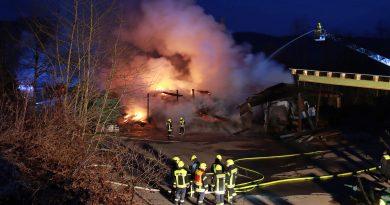 Feuer in Rönkhausen