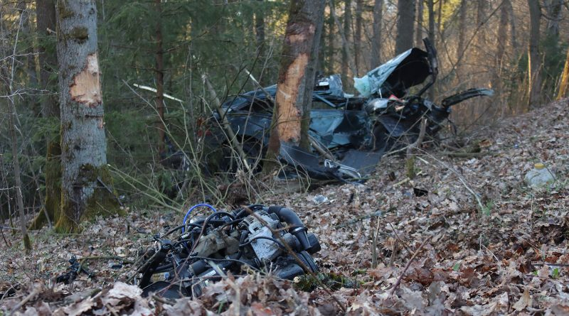 Unfall in Olpe-Stade