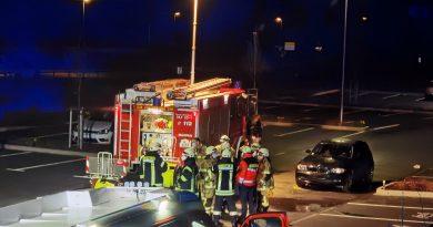 Unfall in Attendorn