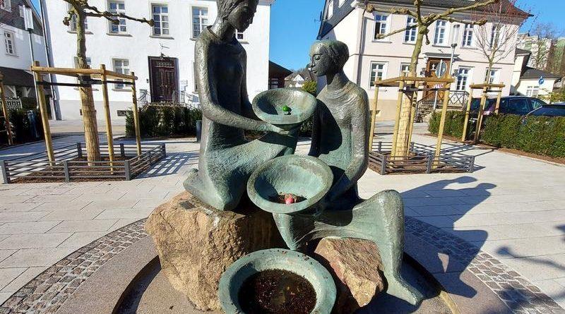 Rathaus-Brunnen in Attendorn